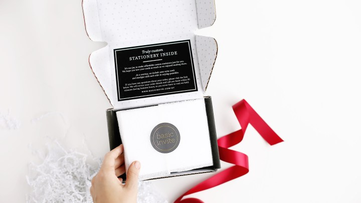 Customize Your Holiday Spirit with Basic Invite