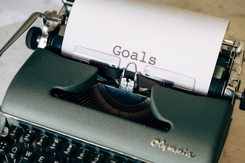 coaching is all about setting goals