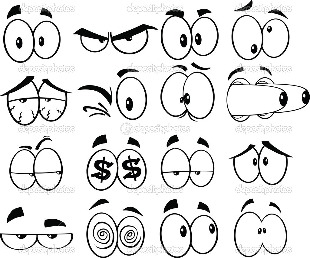 14 Best Images Of Drawing Eyes Worksheet