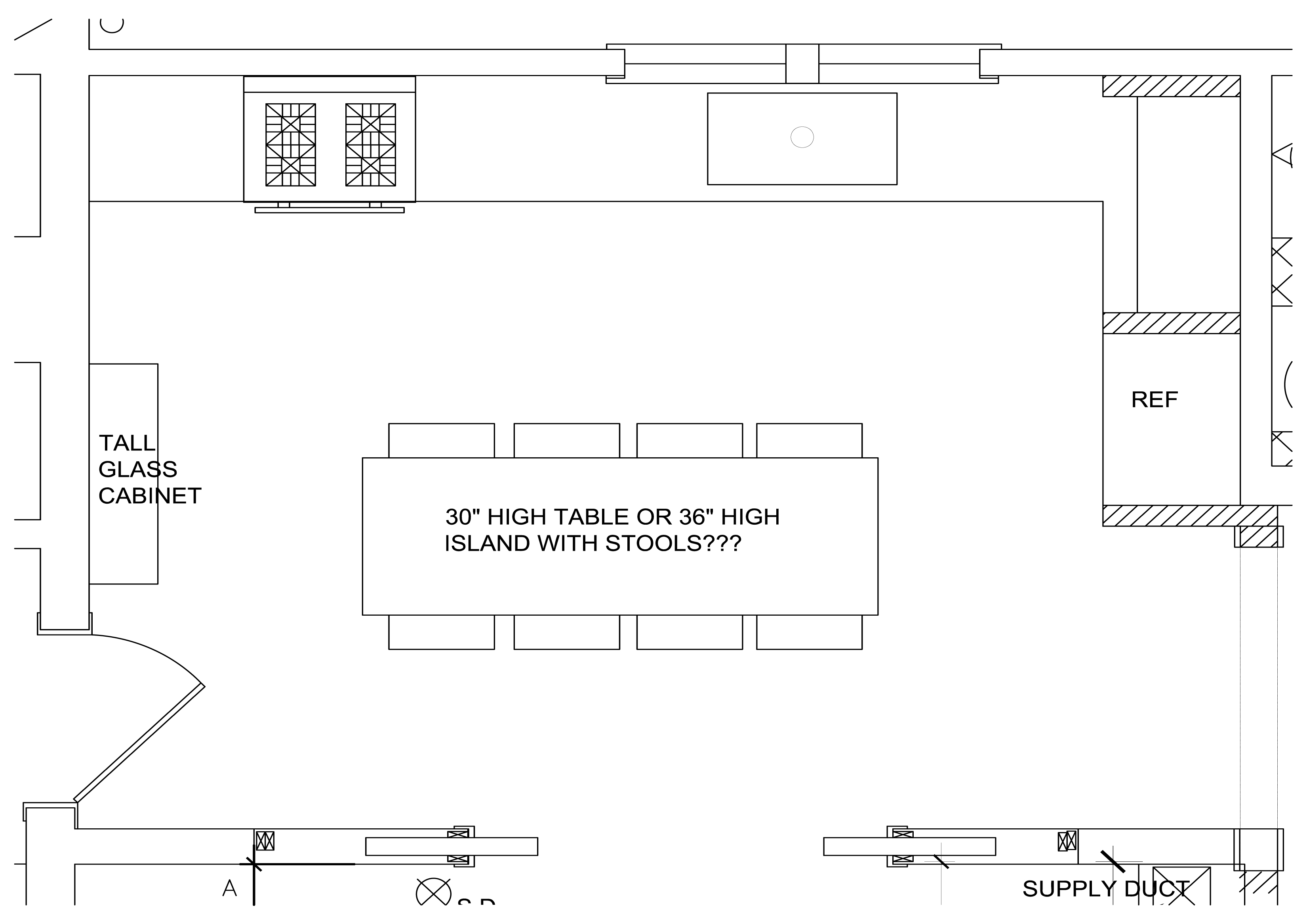 Floor Plan Small Kitchen Layouts   Novocom.top