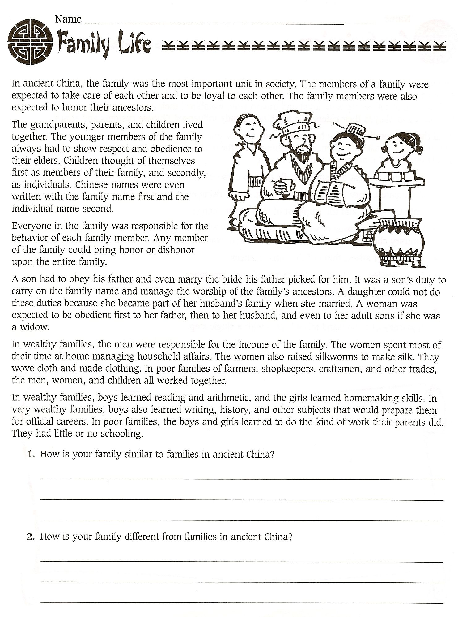 Safety At School Worksheets
