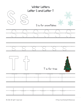 alphabet letters tracing