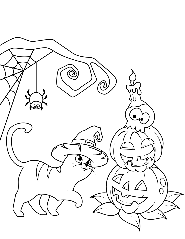 Jack O Lantern Coloring Pages