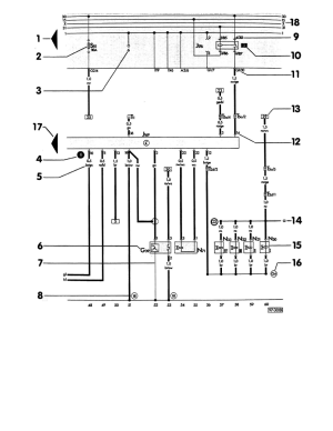[WRG3746] 1990 Audi 90 Quattro Wiring Diagrams