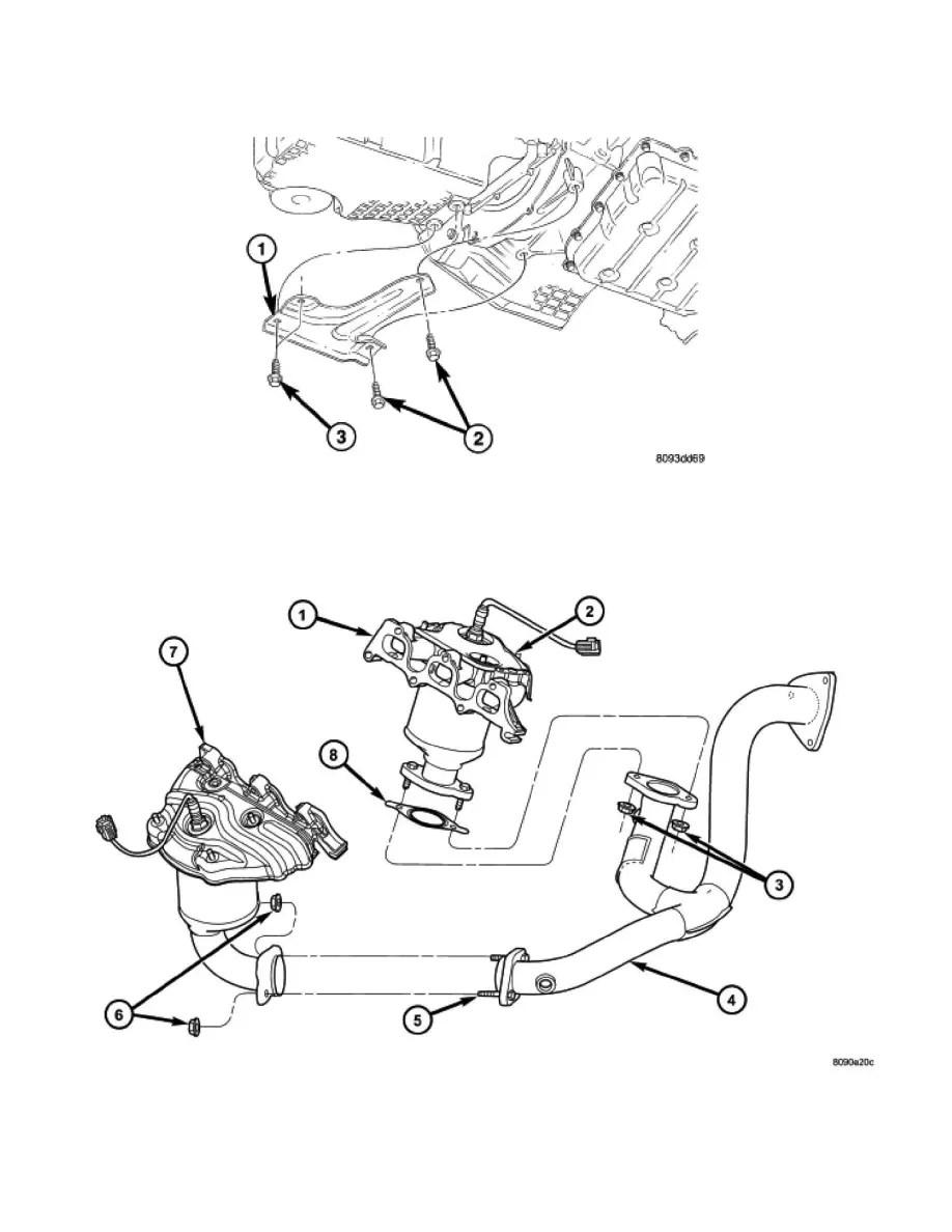 Engine cooling and exhaust u003e engine u003e engine lubrication u003e oil pan engine u003e ponent information