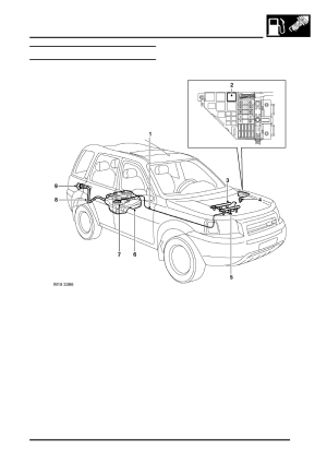 Land Rover Workshop Manuals > Freelander System Description and Operation > FUEL DELIVERY SYSTEM