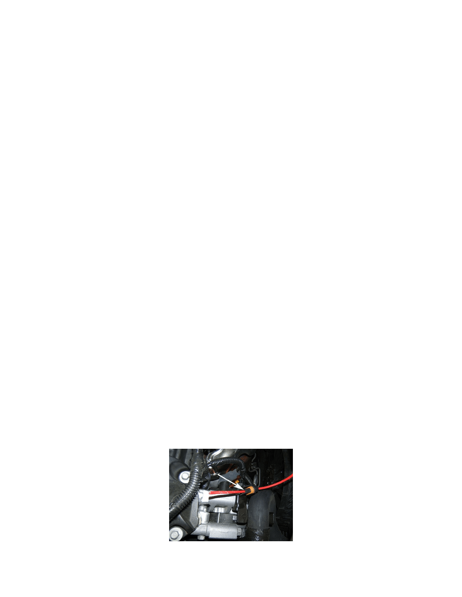 2010 Pontiac G6 Underhood Wiring