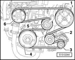 Skoda Workshop Manuals > Fabia Mk1 > Drive unit > 1037