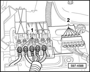 Skoda Workshop Manuals > Fabia Mk1 > Vehicle electrics > Electrical System > Wiring > Fuse