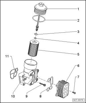 Skoda Workshop Manuals > Fabia Mk2 > Power unit > 1655; 66; 77 kW TDI CR Engine > Engine