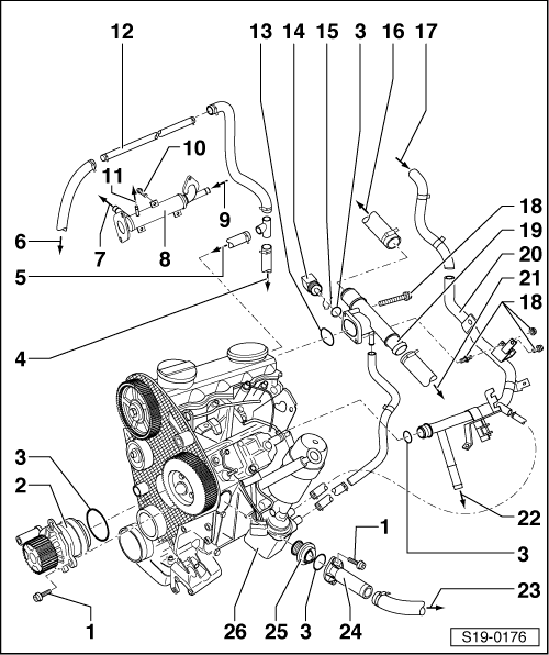 Tdi Engine 9 1 2004 Diagram Golf