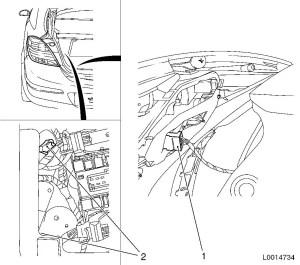 VAUXHALL VIVARO REAR LIGHT WIRING DIAGRAM  Auto Electrical Wiring Diagram