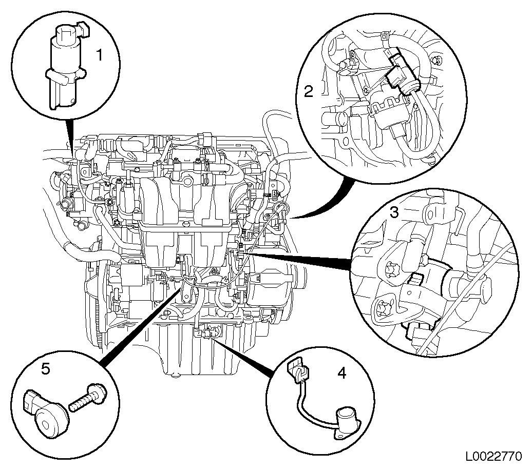 Vauxhall Workshop Manuals Gt Astra H Gt J Engine And Engine
