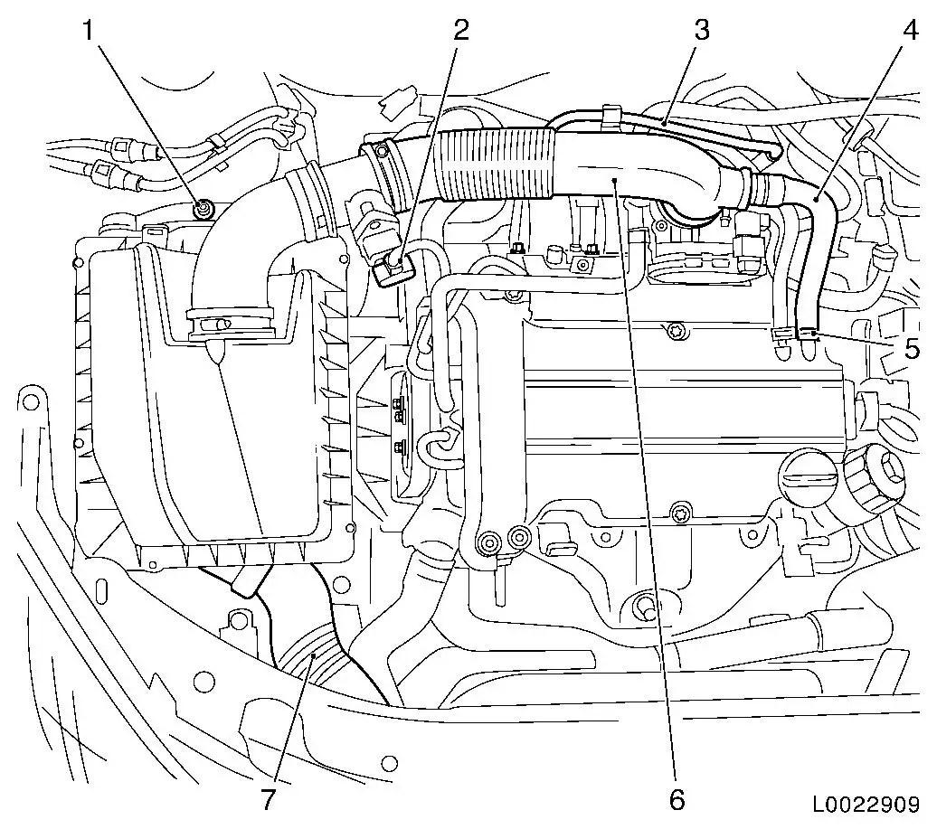 Vauxhall Workshop Manuals Gt Astra H Gt J Engine And Engine