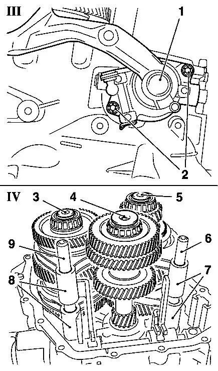 Biuletyn Techniczny Opel Skrzynia M32 I M20