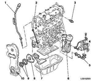 Vauxhall Workshop Manuals > Corsa C > J Engine and Engine