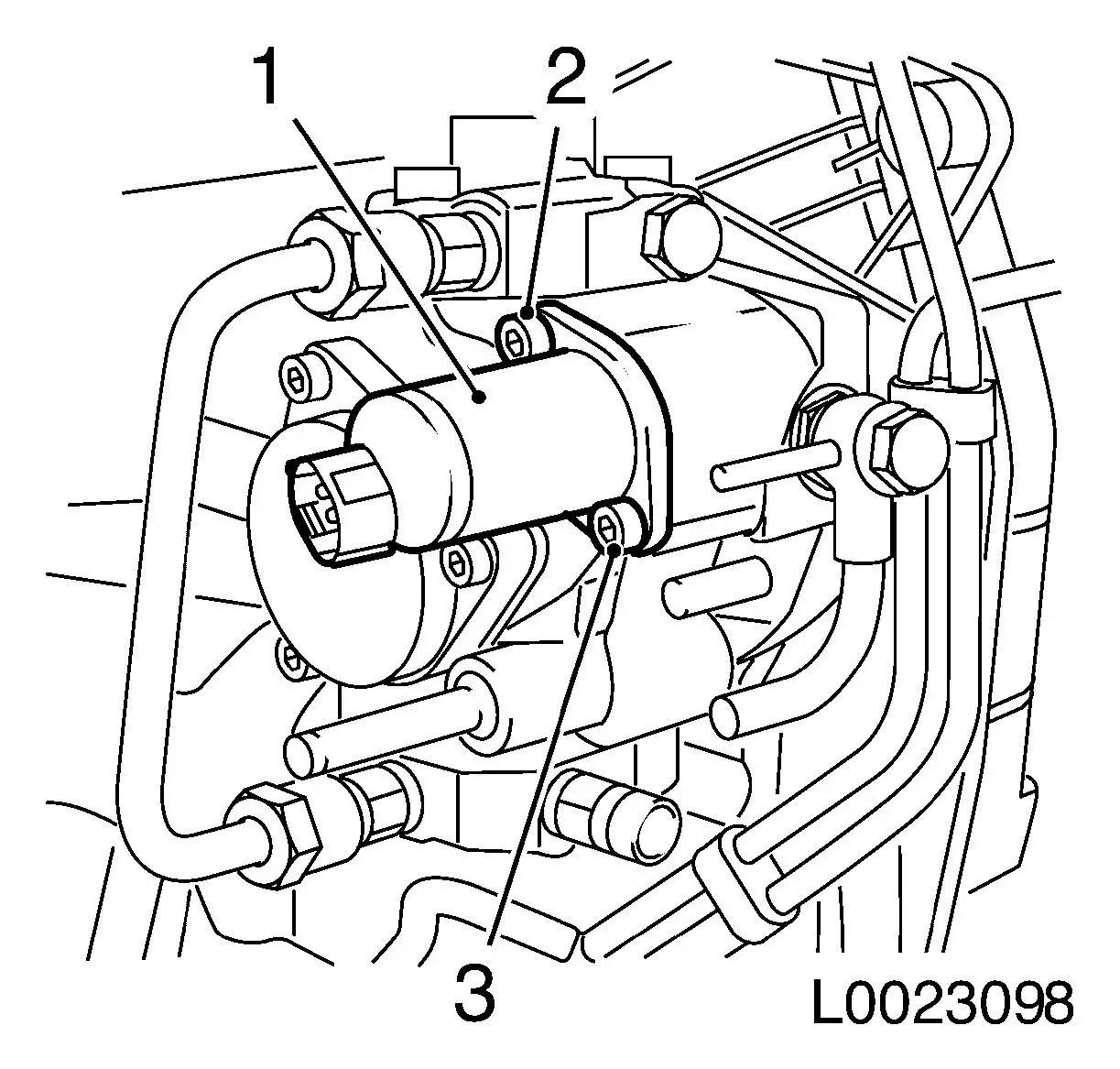 Vauxhall Workshop Manuals Gt Corsa C Gt J Engine And Engine