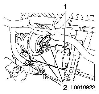 starter motor location vauxhall corsa