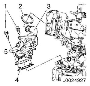 Vauxhall Workshop Manuals > Corsa D > J Engine and Engine Aggregates > DOHC diesel engine