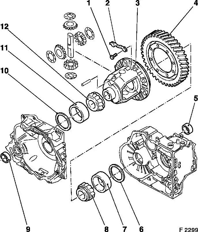 Vauxhall Zafira B Starter Motor Location