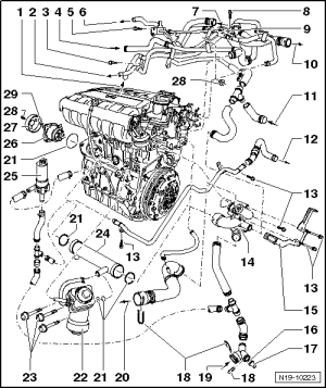 Vw 1 6 Se Engine Diagram Diagram Auto Parts Catalog And
