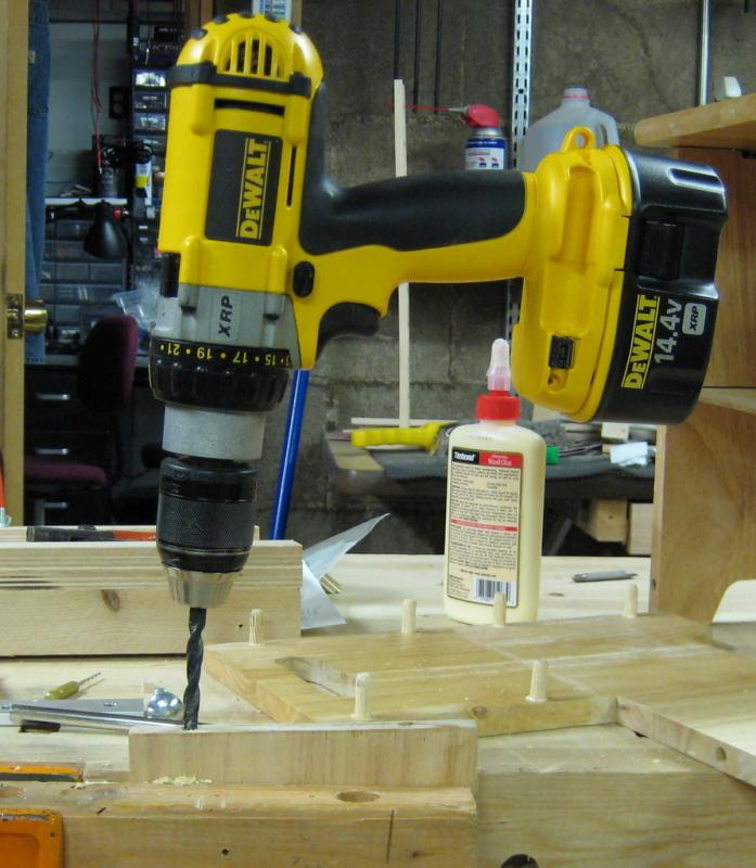 Drilling Out a Dowel