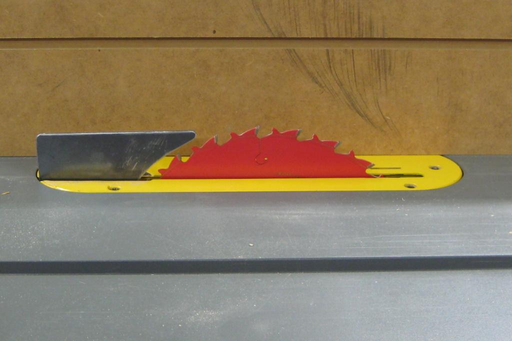 Making My Own Riving Knife » Ben's Workshop