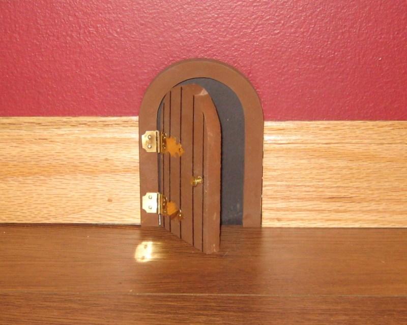 Installed Mouse Door.