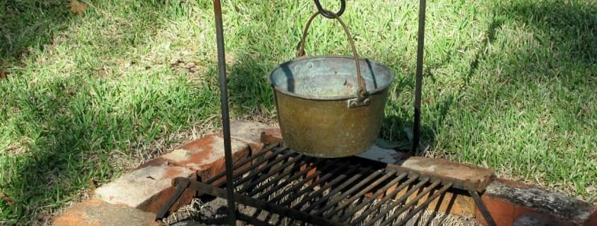 workshop buiten koken