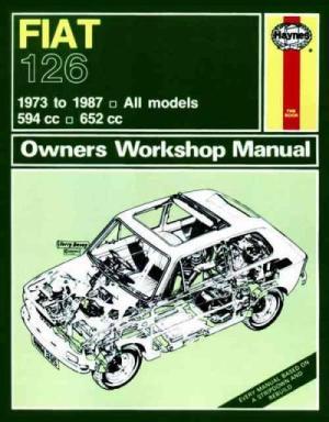 Fiat 126 1973 1987 Haynes Service Repair Manual  sagin