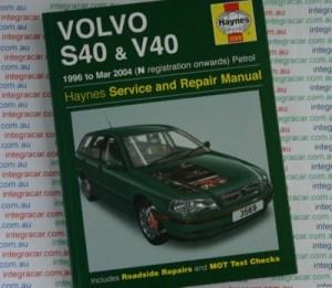Volvo S40 and V40 Service and Repair manual Haynes 1996