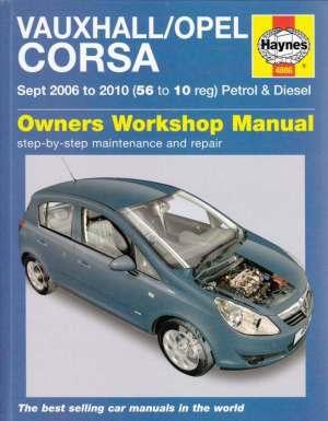Holden Barina (Vauxhall Opel Corsa) 19972000 Haynes Service Repair Manual  sagin workshop car