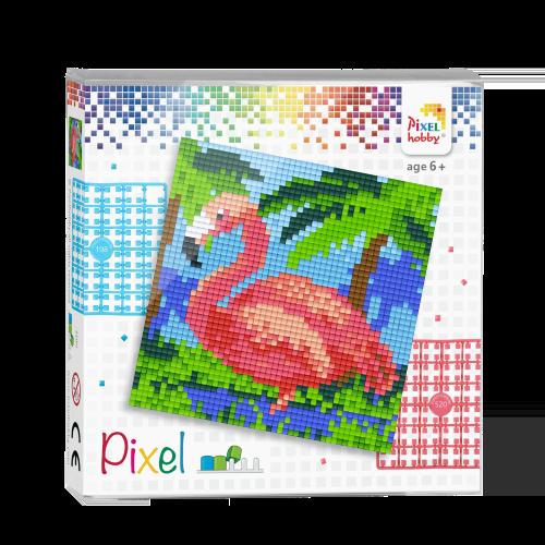44014 pixel flamingo