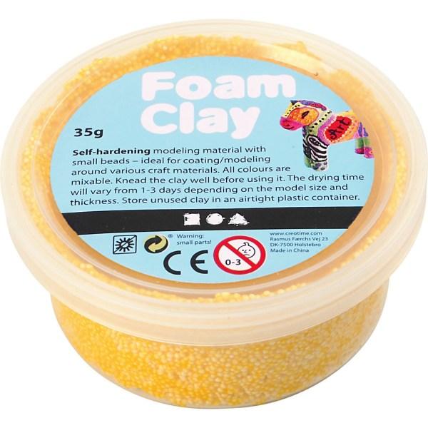 foam clay geel
