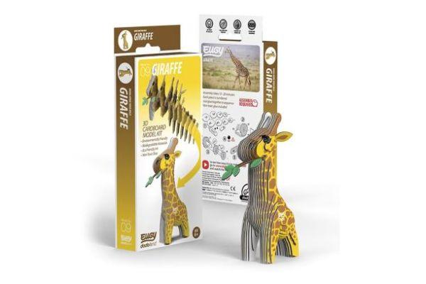 eugy 3d model giraf