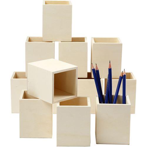 pennenbakjes uit hout