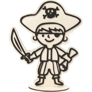houten piraat