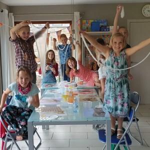 verjaardagsfeestjes kinderfeestjes