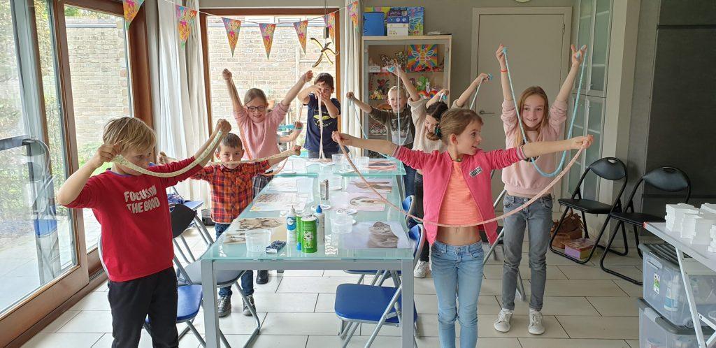 kinderfeestje verjaardagsfeestje kinderworkshop