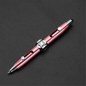 fidget spinner pen roze
