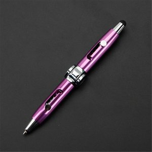 fidget spinner pen paars