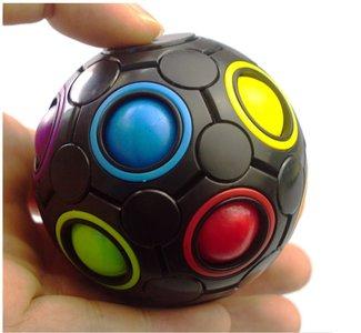magic cube ball zwart