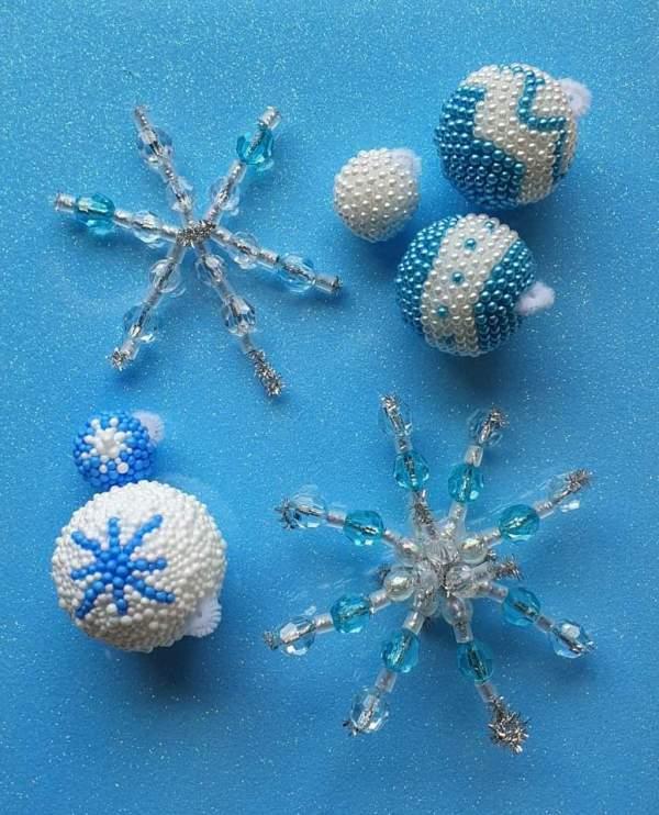 mini creative kit sterren sneeuwvlokken