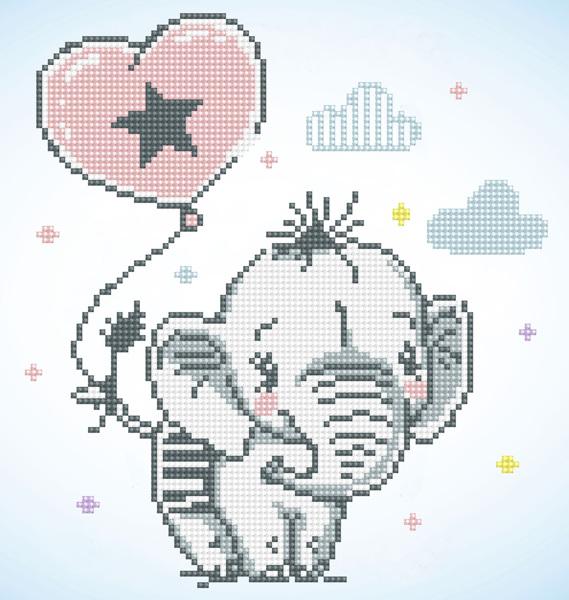 diamond painting olifant