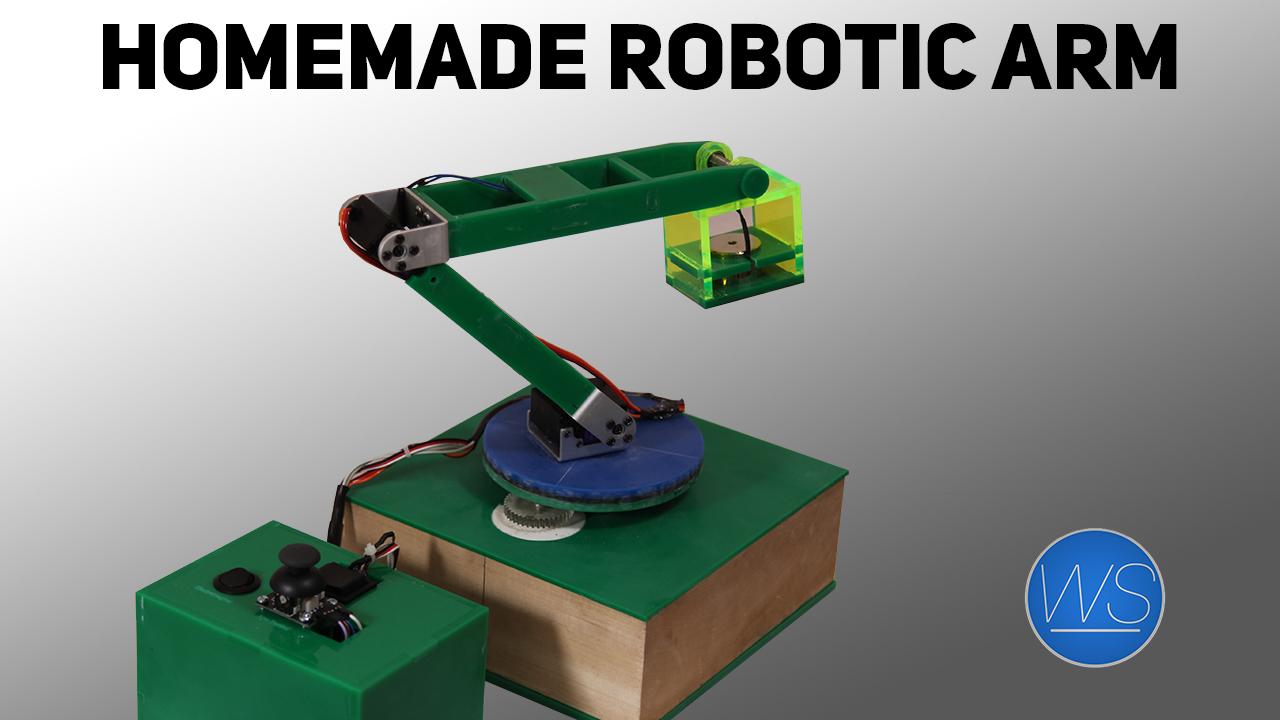 Homemade robotic arm - WorkshopScience