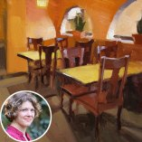Carol Marine paints Provence
