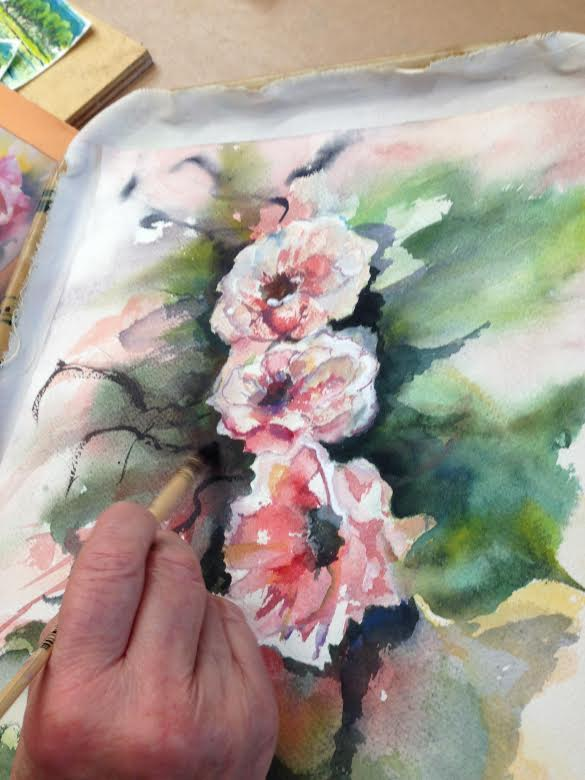 Painting Workshop with Agnes van Gaalen - Atelier Faubourg in La Charité sur Loire