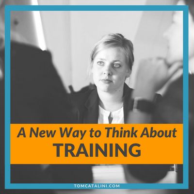 A New Way to Think About Training