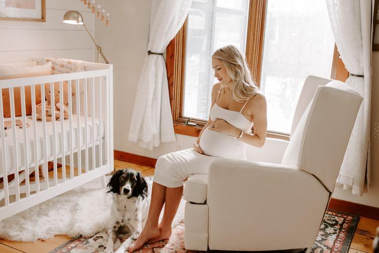 Our Baby Girl Nursery Reveal