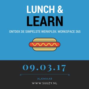 Lunch en learn Workspace 365